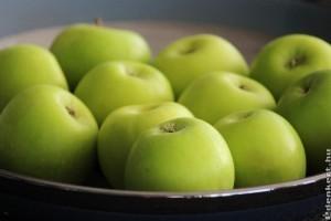 Zöld alma - nálunk kipirul?