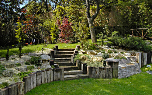 A kert egy élő műalkotás