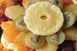 Gyümölcsös korongok