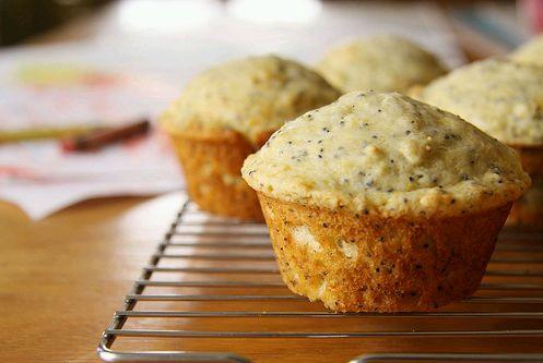 tökös-mákos muffin