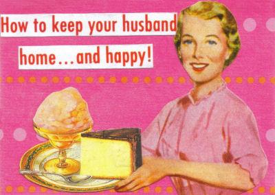feleség az 50-es évekből