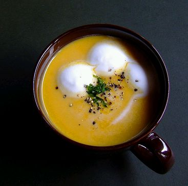 borleves csészében