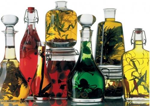 házilag készített fűszerolaj