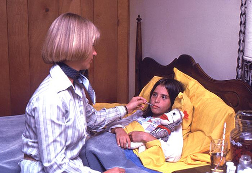 Influenzás gyerekek