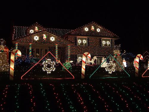 Karácsonyi házdekoráció