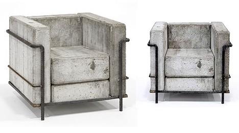 beton szék