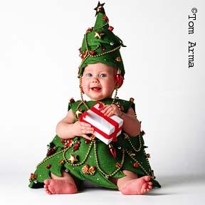 Karácsonyfa baba