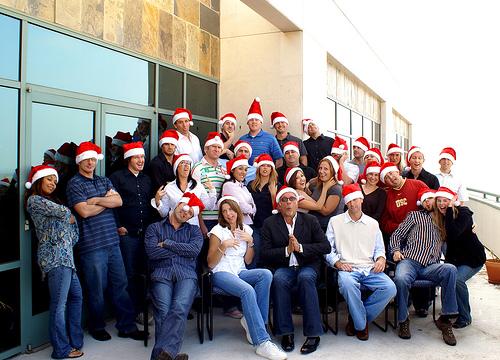 Irodai karácsony