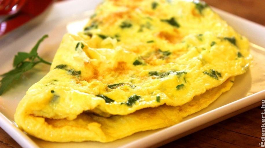 Reggelire-vacsorára: omlett sütőtökkel