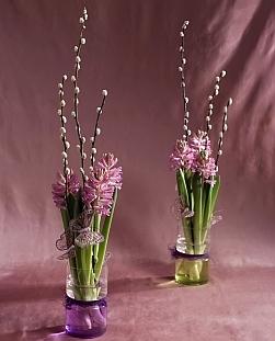 jácintos dekoráció