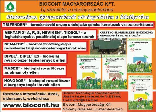 biocont ajánlat