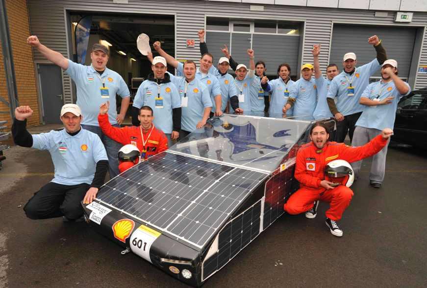 szevolution nevű energiatermelő autó