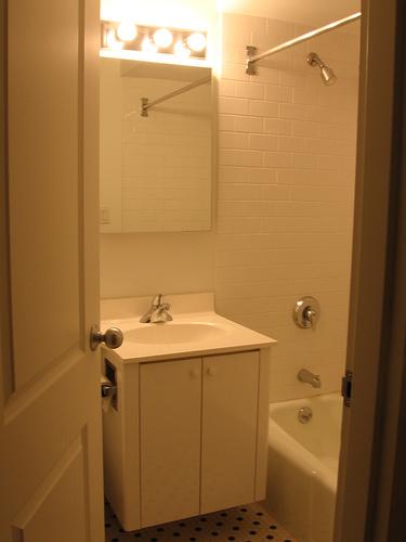 Feng Shui egy tükör a fürdőszoba ajtaján