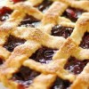 Nagymama receptje: cseresznyés rácsos sütemény