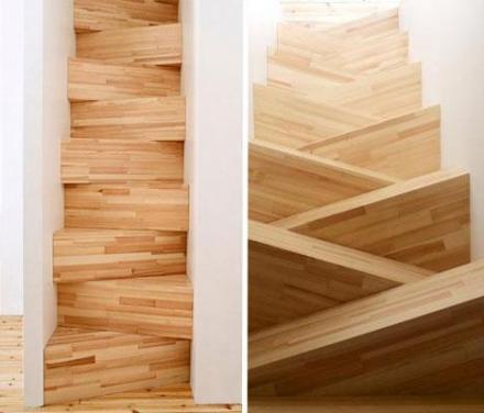 szűk lépcső