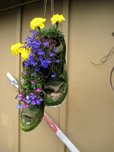 Hogyan készítsünk dekoratív kerti virágtartót? - Kertápolás - Kertépítés + Kerttervezés