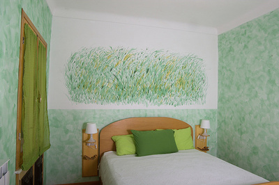 Zöld-feng-shui-hálószoba