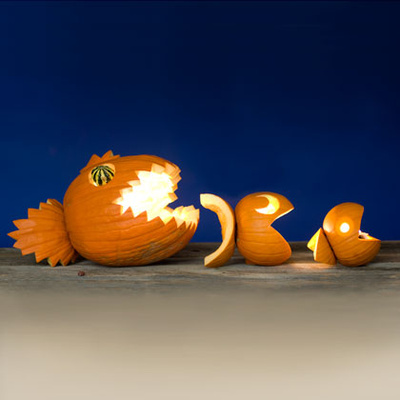 Packman-halloween-tök