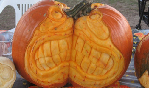 Halloween-tökfaragás