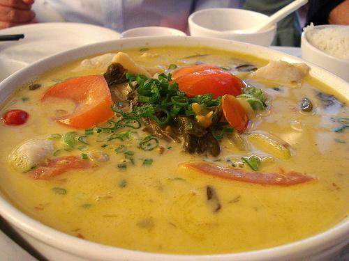 Zöldségmaradék-leves