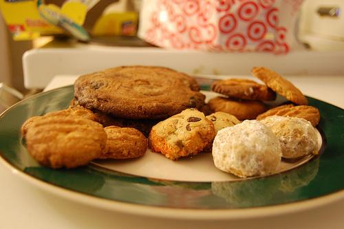 Pisztácia-vajas-sütemények
