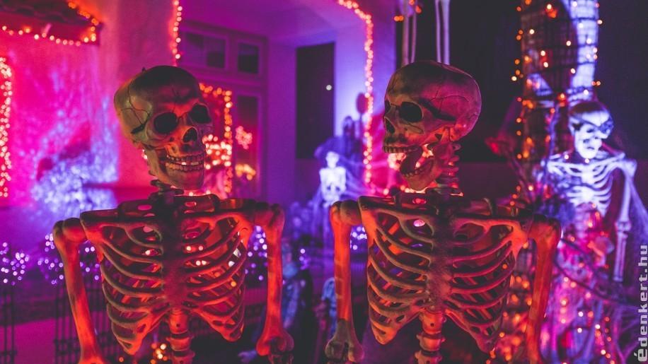 Rémisztő kerti dekoráció ötletek halloweenra