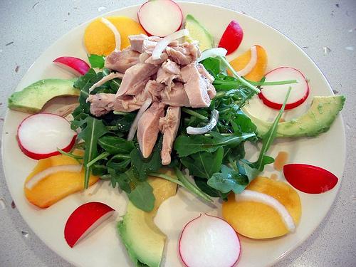 Avokádós-saláta