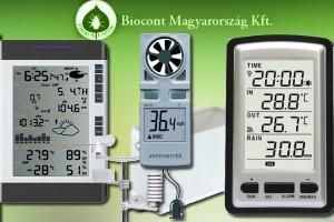 Nélkülözhetetlen meteorológiai mérőműszerek
