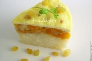 A sütőtökös-almás rizspuding receptje