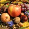 Őszi csemegék: alma, dió, szőlő
