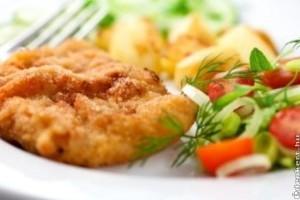 A magyarok kedvence a rántott hús és a sült burgonya