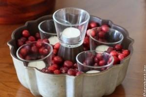 Asztaldísz adventre - egyenesen a konyhából