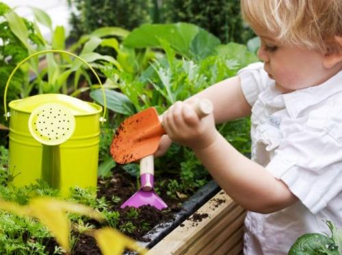 Kertészkedés mint készségfejlesztő játék