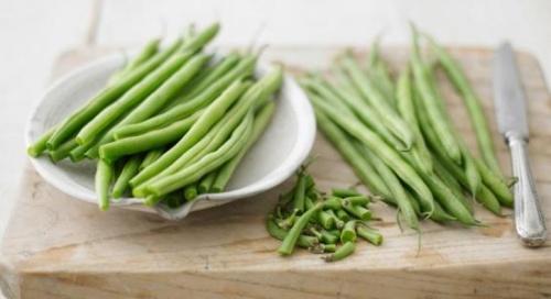 A zöldbab sok vitamint tartalmaz