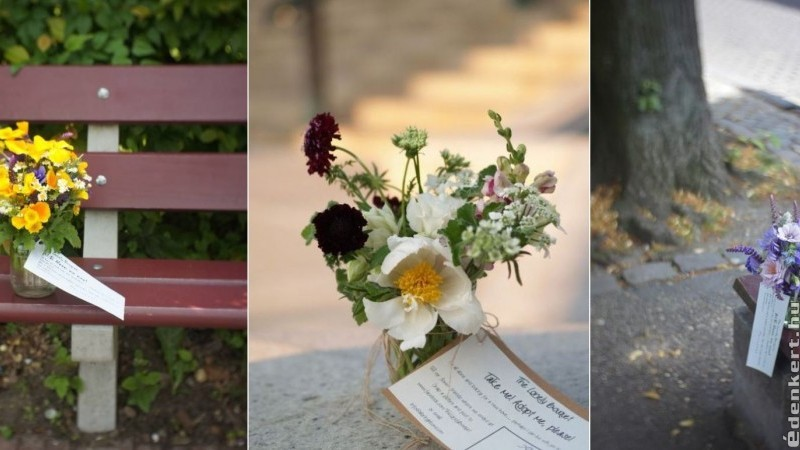 Ne lepődj meg, ha árválkodó virágcsokrot találsz - a tiéd!