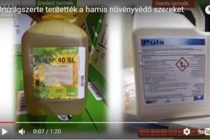 2700 kg hamis növényvédő szert foglalt le a Nebih