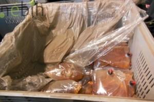 Derecskei almalé üzemben 94 ezer liter lejárt almalét találtak