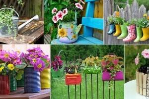 15 egyedi virágtartó ötlet