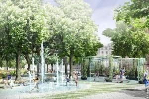 Bécs készül a forróságra: hűsölő parkot terveznek