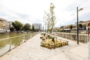 Betonsivatagból úszó kerteket építettek Bécsben