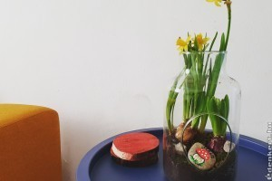 Filléres tavaszi dekoráció házilag