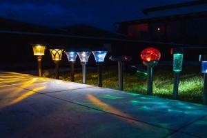 4 kreatív kerti világítás ötlet