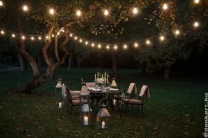 Kreatív kerti világítás ötletek