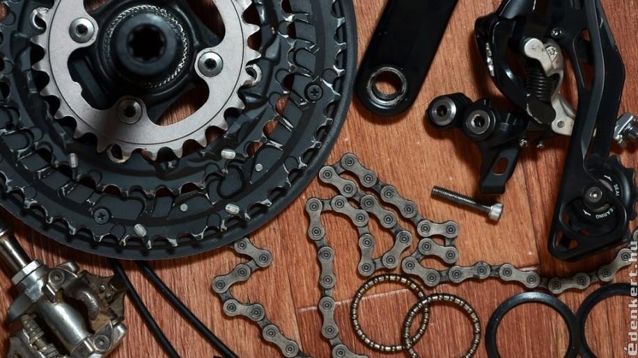 Kerékpár alkatrészek minden mennyiségben