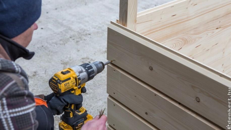 Kerti faház építése saját kezűleg