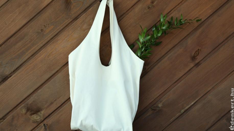 Légy környezettudatos, hordj vászon táskát!