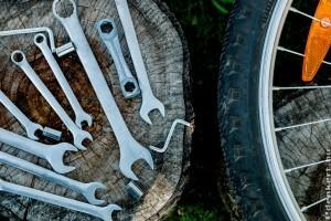 Szervíz helyett kerékpár szerszámkészlet