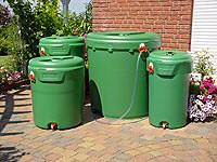 Esővízgyűjtéssel rengeteget spórolhatunk a kertben
